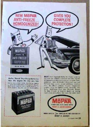 MOPAR AD 1957