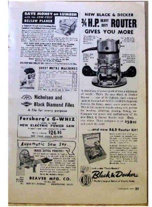 BLACK & DECKER AD 1957