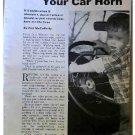FIX A CAR HORN 1957