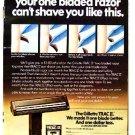 GILLETTE TRAC II AD 1973