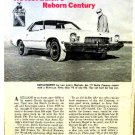 McCAHILL TESTS BUICK CENTURY 1973