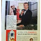 CAMEL AD DICK POWELL 1954