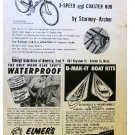 RALEIGH BIKE AD 1954