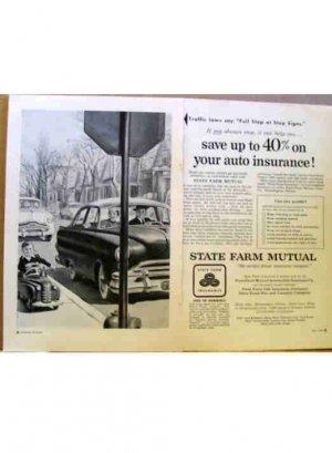 STATE FARM AD 1954