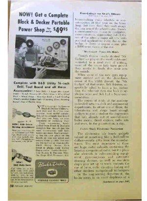BLACK & DECKER AD 1954