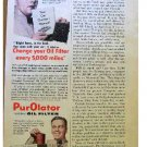PUROLATOR OIL FILTER AD 1954