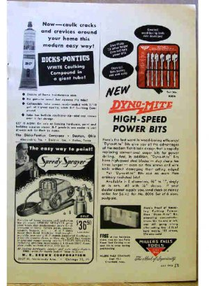 MILLERS FALLS AD 1954