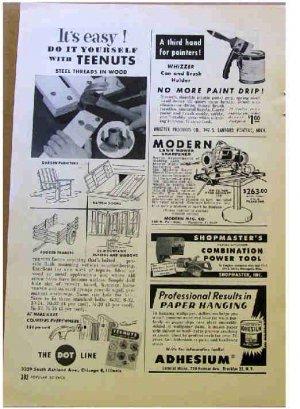 TEENUTS AD 1954