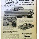 NASH METROPOLITAN AD 1954