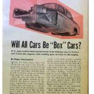 UNIBODY ARTICLE 1954