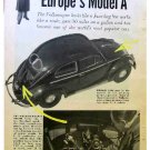 VOLKSWAGON ARTICLE 1954
