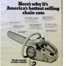 POULAN CHAIN SAW AD 1973