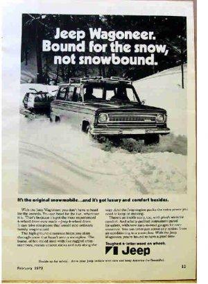 JEEP AD 1973