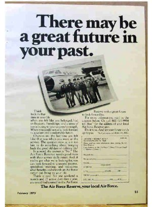 AIR FORCE RESERVE AD 1973