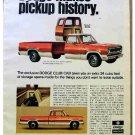 DODGE PICKUP AD 1973