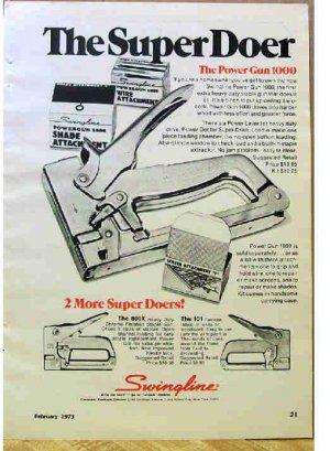 SWINGLINE AD 1973