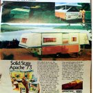 APACHE TRAVEL TRAILER AD 1973