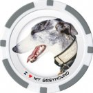 GREYHOUND DOG BREED Poker Chips (11.5g) Sold in Packs of 10