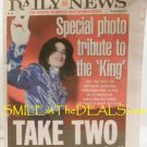 MICHAEL JACKSON KING OF POP PHOTO TRIBUTE NY DAILY NEWS