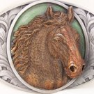 HORSE LOVERS ALERT!!   HORSE BELT BUCKLE BY BERGAMOT