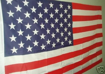 AMERICAN FLAG  3'X5'...CLEARANCE!  1/2 OFF...WOW!