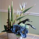 Birds of Paradise with Magnolias arrangement