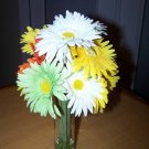 Gerbera Daisies bouquet in glass vase
