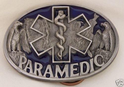 PARAMEDIC BELT BUCKLE...EMERGENCY MEDICAL  BUCKLE