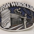 IRON WORKER BUCKLE BY SISKIYOU...PEWTER...MADE IN USA