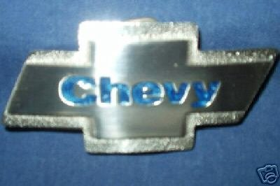 CHEVROLET (CHEVY) TRADEMARK, BELT BUCKLES...3 STYLES