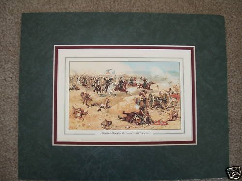 """""""Sheridan's Charge At Winchester"""" by Kunstler (Print)"""