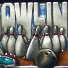 BOWLING PEWTER SPORTS BELT BUCKLE BY SISKIYOU