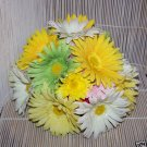 Gerbera Daisies centerpiece / Wedding cake topper