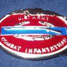 U.S. ARMY COMBAT INFANTRYMAN BELT BUCKLE