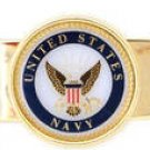 U.S. NAVY MILITARY  MONEY CLIP