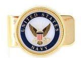 U.S. NAVY MILITARY  MONEY CLIP