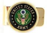 U.S. ARMY  MILITARY MONEY CLIP