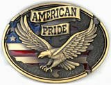 United States of America Patriotic Flag Belt Buckle...