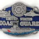 U.S. COAST GUARD MILITARY BELT BUCKLE