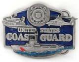 U.S. COAST GUARD MILITARY BELT BUCKLE