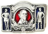 CONFEDERATE STATES OF AM. JEFFERSON DAVIS BELT BUCKLE