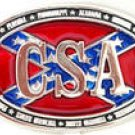 CSA CONFEDERATE STATES OF AMERICA CIVIL WAR BELT BUCKLE