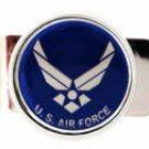 U.S. AIR FORCE INSIGNIA MILITARY MONEY CLIP