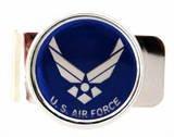 U.S. AIR FORCE INSIGNIA MILITARY MONEY CLIP