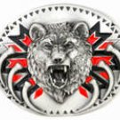 Men's GROWLING BEAR PEWTER Belt Buckle..$15.99