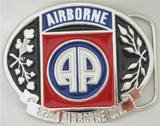82nd AIRBORNE DIVISION BELT BUCKLE...MADE IN USA