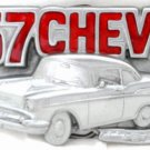 '57 CHEVROLET CHEVY CLASSIC CAR BELT BUCKLE