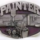 SISKIYOU PAINTER MEN'S BELT BUCKLE...MADE IN USA