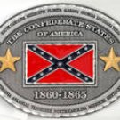 CONFEDERATE STATES OF AMERICA 1860-1865 CSA BELT BUCKLE