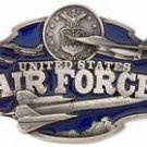 UNITED STATES AIR FORCE SISKIYOU BELT BUCKLE....PEWTER